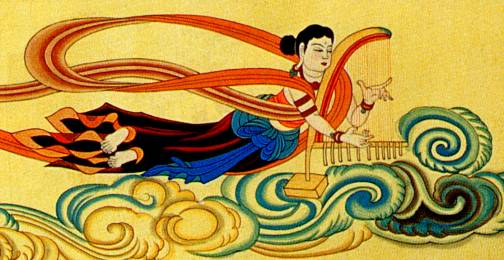 Lyre in China